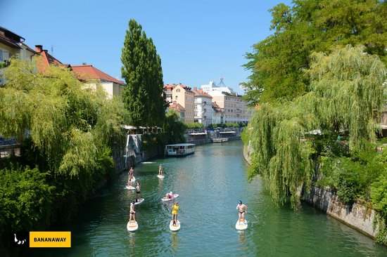 Bananaway - Stand Up Paddle Tour in Ljubljana