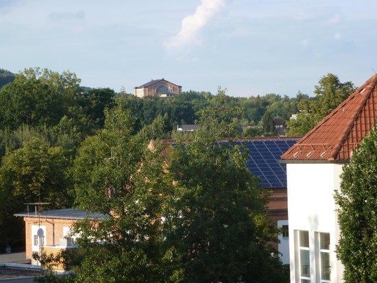 Arvena Kongress Hotel: Vista del Festspielhaus desde nuestra habitación