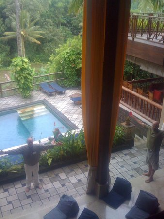 View From 2nd Floor Picture Of Gaia Retreat Center Ubud Tripadvisor