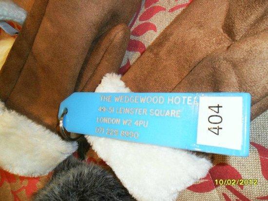 Wedgewood Hotel: CHIAVE
