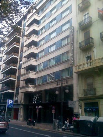 Hotel Dimar: facciata hotel