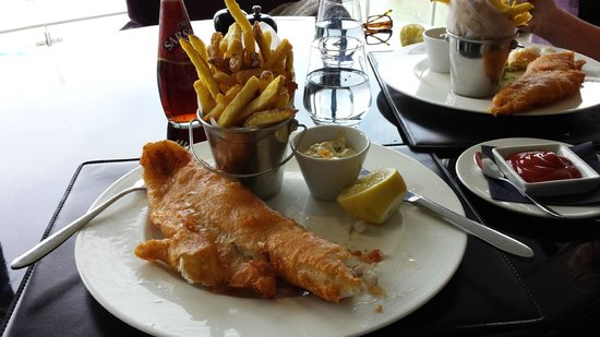 Cafe Shore : Fish and chips