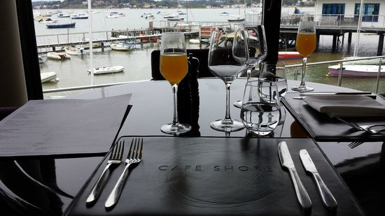 Cafe Shore : view of harbour