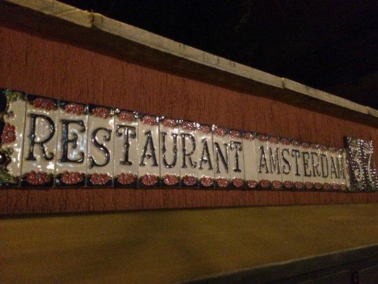 Hotel Amsterdam: Restaurant Entrance
