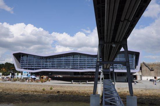 Cite de la Voile Eric Tabarly : The main building