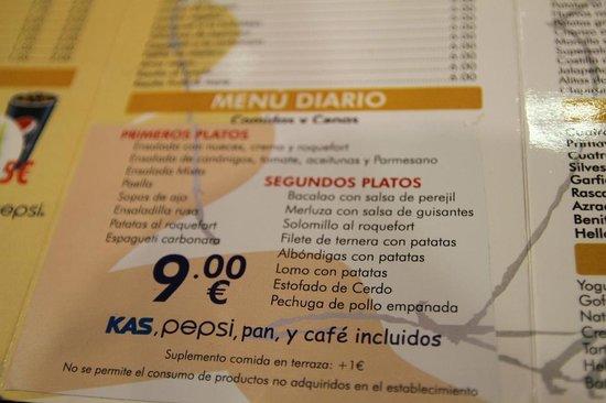 almuerzo Inglés sumisión en Fuenlabrada
