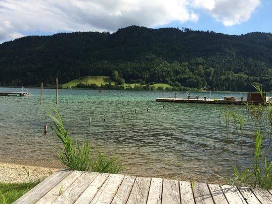 Bio-Vitalhotel Weissenseerhof : Spa outdoor Area