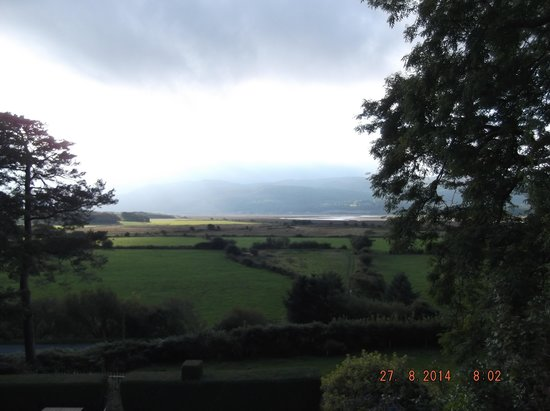 Gogarth Hall Farm: A view from the B&B .