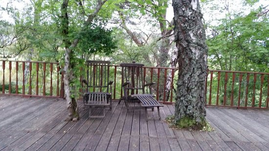 Bed and Breakfast at MellonPatch: Deck