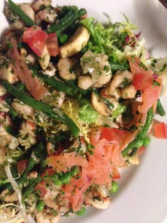 Cafe Comptoir Abel: salad