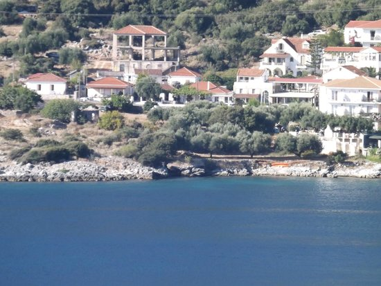 Kefalonia Bay Palace : Widok z balkonu