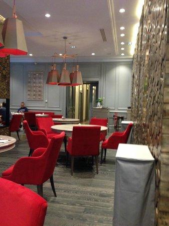 Hotel Mont-Blanc: salle a manger