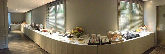 Hotel Mont-Blanc: buffet petit dejeuner