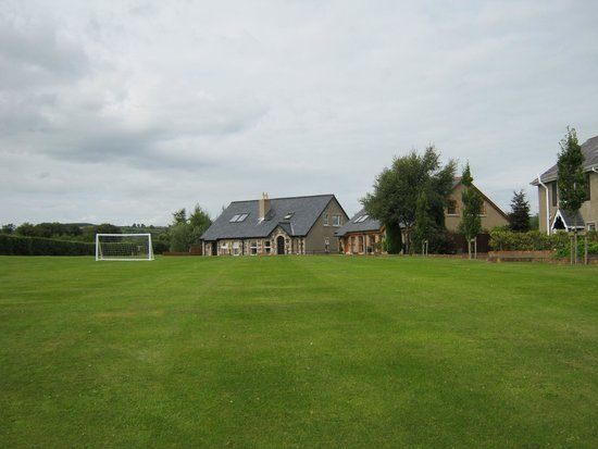 Newcastle Country Cottages: view of cottages from lawn