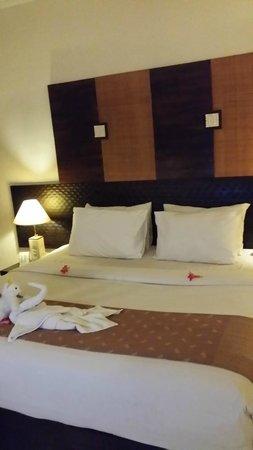Sadara Boutique Beach Resort: our room