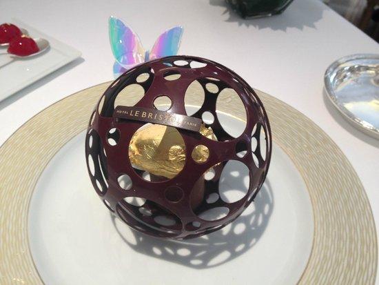 Epicure : chocolate globe