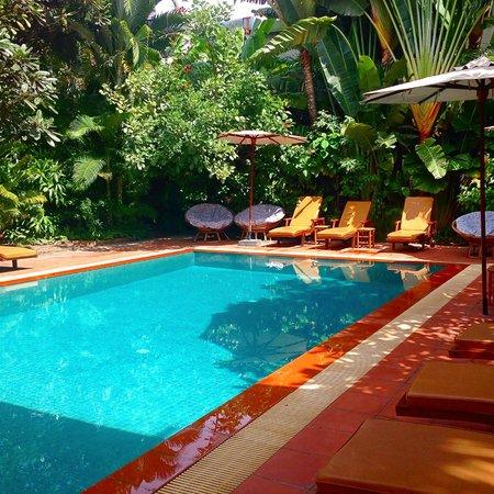 The Villa Paradiso: Little Oasis...