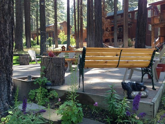 Heavenly Valley Lodge Bed & Breakfast: The relax area