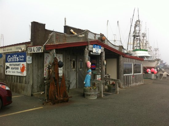 Castaway By the Sea: Griff's on the Dock