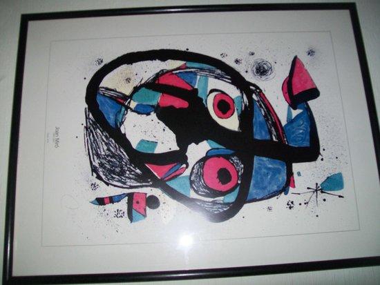 Novum Hotel Maxim Dusseldorf City: Joan Miró
