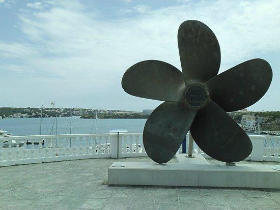 Mahon Port: helice