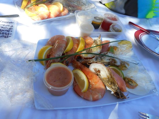 Mission Beach Charters: Our Island Seafood Feast