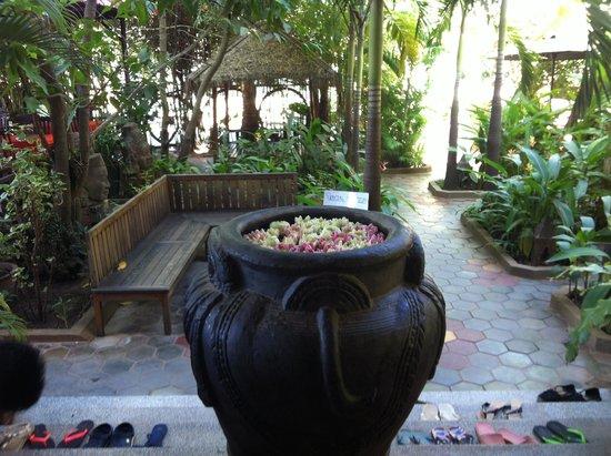 Golden Mango Inn: Garden