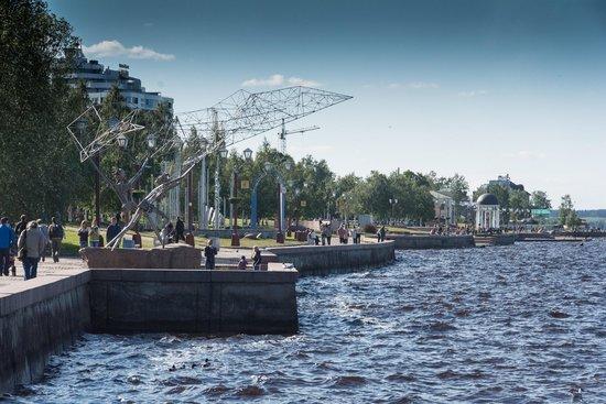 City Park and Embankment: Петрозаводск