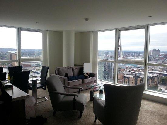 Apple Apartments Belfast: Lounge/diner