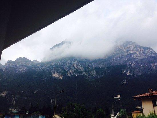 Hotel Luise: Window view!