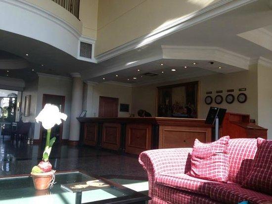 Holiday Inn Johannesburg Airport : The Reception Area