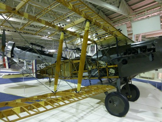 The Royal Air Force Museum London: Amazing access to internals