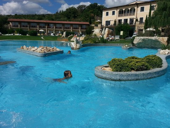 Hotel Adler Thermae Spa & Relax Resort: thermal of Eden