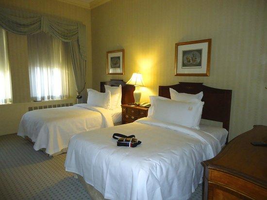 Waldorf Astoria New York : notre chambre suite