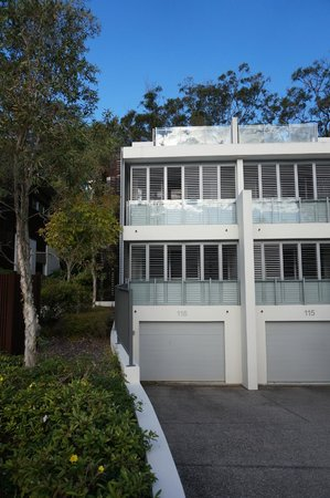 RACV Noosa Resort : House - with double underground garage