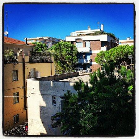 Hotel Calypso: Вид с балкона
