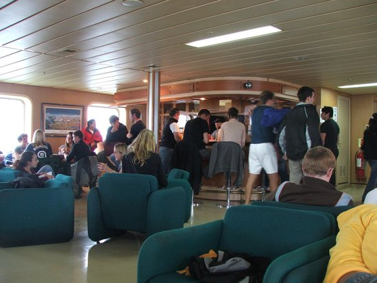 Navimag: Life aboard