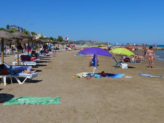 Hotel Intur Orange : la plage
