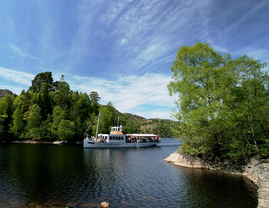 Loch Lomond and The Trossachs National Park, UK: The Steamship Sir Walter Scott