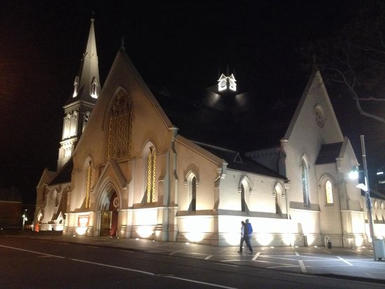 St. Patrick's Cathedral : night view