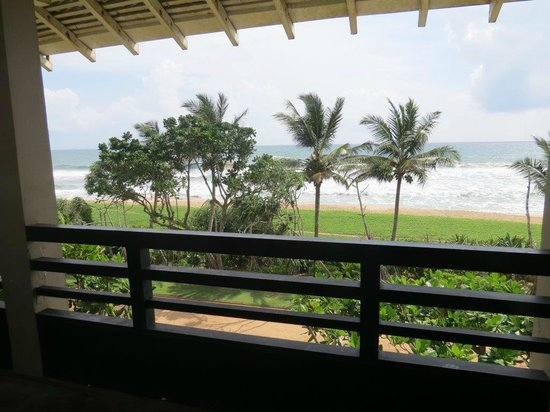 Heritance Ahungalla: Sea view from the room/ Large balcony