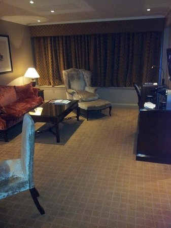 Radisson Blu Edwardian Heathrow Hotel: Living Room