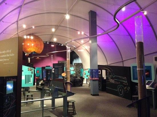 Imiloa Astronomy Center: interactive exhibits
