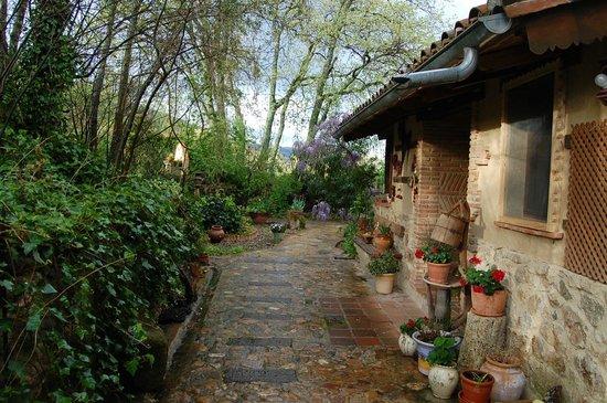 Jard n casa de arriba 6 pax picture of casa rural la for Casa rural jardin del desierto