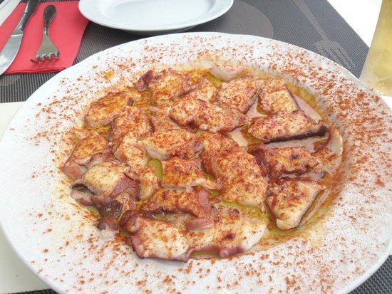 Restaurante La Escuela: Pulpo a la gallega que no te puedes perder