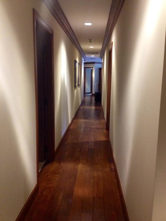 The Ritz Residences: Just our 'bowling alley' hallway :)