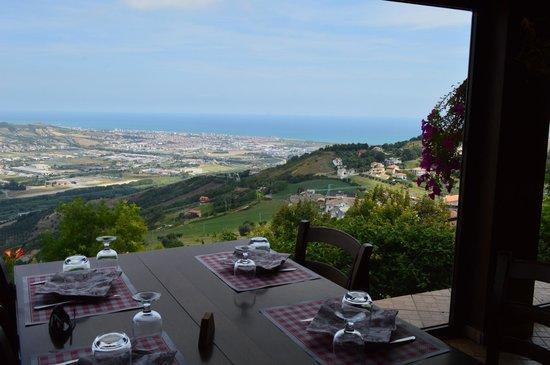 Osteria Vicolo Cieco: La vista panoramica dai tavoli