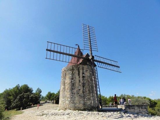 Moulin de Daudet : Le moulin