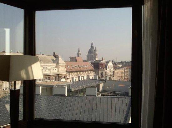 InterContinental Budapest: с кровати