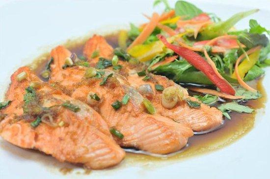 The China Kitchen: Teriyaki Salmon